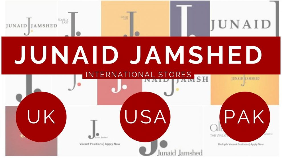 Location Address and contact Junaid Jamshed UK USA and Online J dot
